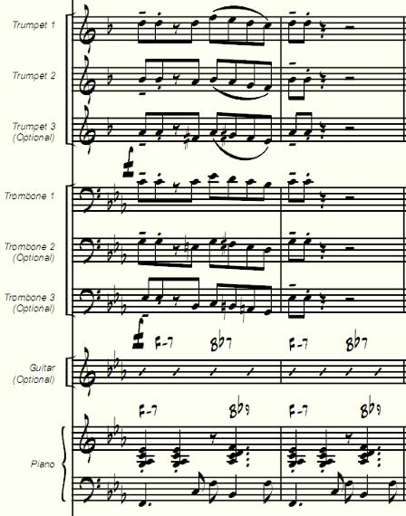 Jameskass Scores And Arrangements